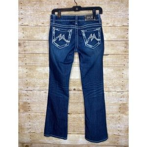 Miss Me Easy Boot Cut Jeans Size 25
